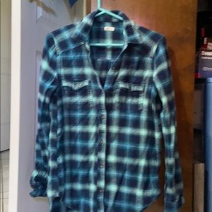 Over sized flannel